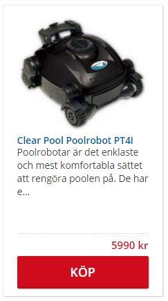Billig Poolrobot