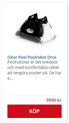 Clear Pool Poolrobot Orca