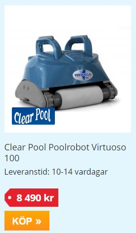 Clear Pool Poolrobot Virtuosa buildor
