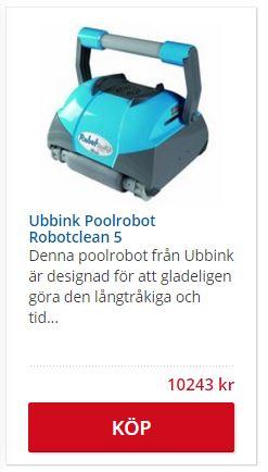 Ubbink Poolrengörare robot