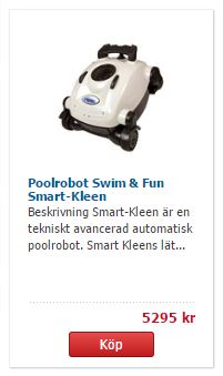 swim fun smartkleen poolrobot