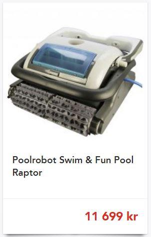 Raptor poolrobot